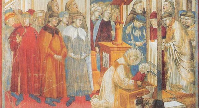 San Francesco E Il Presepe Di Greccio Negli Affreschi Di Giotto – Articolo Di Sanfrancescopatronoditalia.it