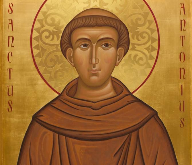 Sant'Antonio Di Padova – A Cura Di Francesca Cocco OFS Sabbioncello