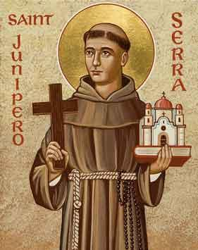 Fra Junìpero Serra, Apostolo Della California