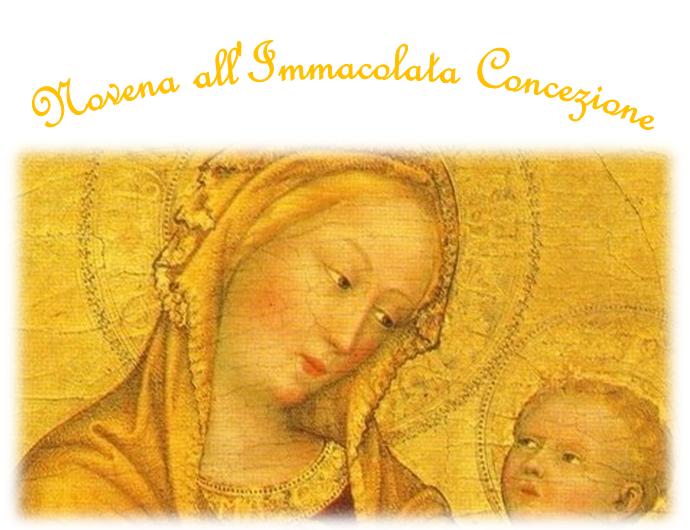 Novena All'Immacolata. Clarisse Francescane Missionarie Del Santissimo Sacramento Di Bologna.