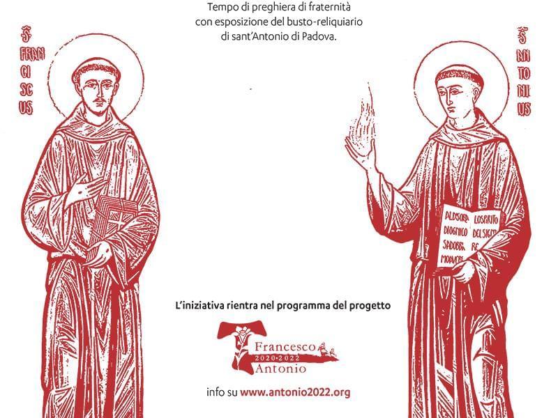 800 Anni Fa L'incontro Tra San Francesco E Sant'Antonio.