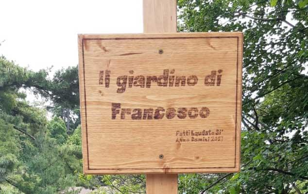 """""""Il Giardino Di Francesco"""". Progetto Internazionale """"Patti Laudato Si'"""""""