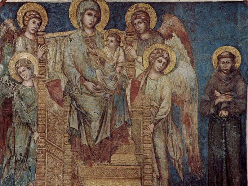 Maria Nella Vita E Nella Devozione Di San Francesco.