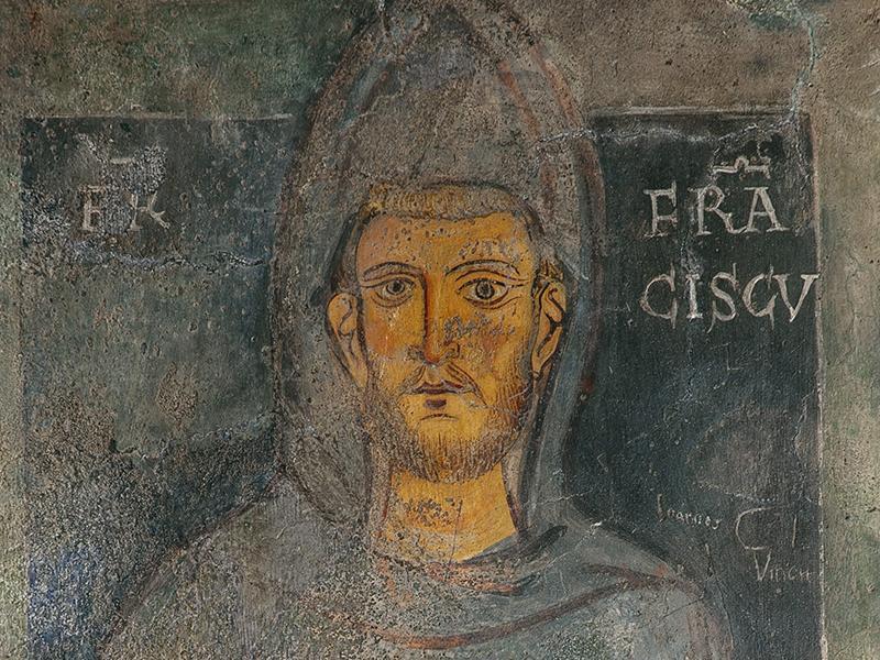 L'immagine Più Antica Di San Francesco.